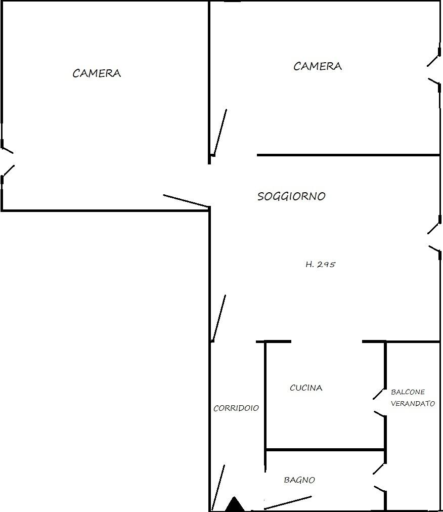 Ferrania Cairo Montenotte (SV) vendesi appartamento